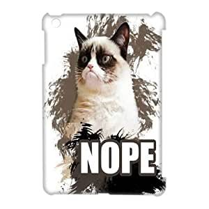 Clzpg 3D Drop-ship Ipad Mini Case - Grumpy cat 3D plastic case