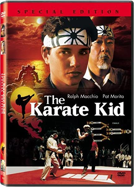 The Karate Kid Special Edition Ralph Macchio Noriyuki Pat Morita Elisabeth Shue Martin Kove William Zabka John Avildsen Jerry Weintraub Columbia Pictures Movies Tv