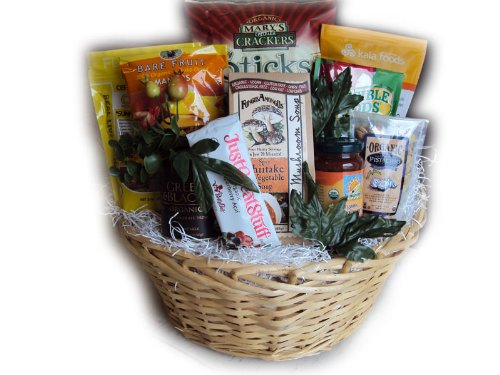 Organic Food Gift Basket by Well Baskets