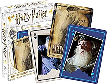 HARRY POTTER Dumbledore Carta de Juego: Amazon.es: Juguetes ...