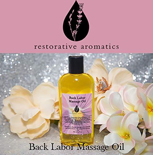 Back Labor Massage Oil