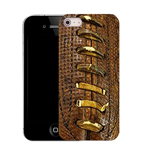 Mobile Case Mate IPhone 4s clip on Silicone Coque couverture case cover Pare-chocs + STYLET - traditional footy pattern (SILICON)