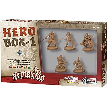 Amazon com: Zombicide: Black Plague Hero Box 1 Board Game