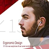 Glazata Pure Sound Earbuds Headphones with HD
