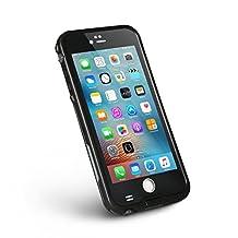 Merit™ iPhone 6 Plus Waterproof Case [New Version] 6.6ft Underwater Waterproof Shockproof Snowproof Dirtproof Protection Case Cover for iPhone 6 Plus 5.5 inch (black)