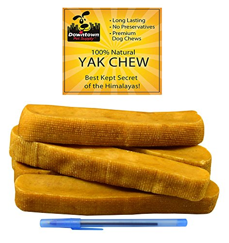 Downtown Pet Supply Himalayan Yak Dog Chew, 2 lb from Downtown Pet Supply