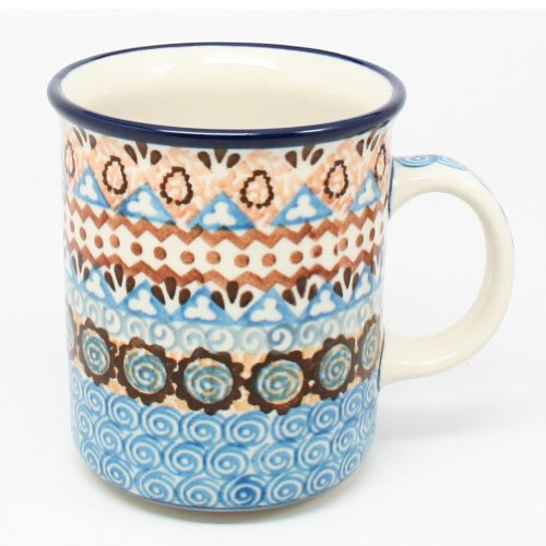 Polish Pottery 8 oz. Mug #1359