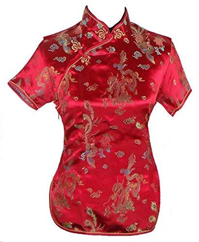 GFM - Camisas - para mujer Dragon - Red