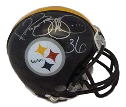 2212473594b Amazon.com  Jerome Bettis Autographed Signed Pittsburgh Steelers ...