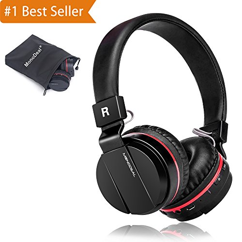 Active Noise Cancelling Wired/Wireless Bluetooth Headphones with Mic,Adjustable Foldable on the Ear,Soft Memory-Protein Earmuff,Hi-Fi Stereo Headset for PC/Cell Phones/TV 【1 iphone X case free (Active Listening Earmuff)