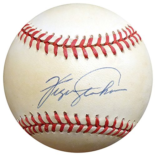 Fergie Jenkins Autographed Signed Official NL Baseball Chicago Cubs - Beckett -