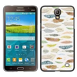 // PHONE CASE GIFT // Duro Estuche protector PC Cáscara Plástico Carcasa Funda Hard Protective Case for Samsung Galaxy Mega 2 / Ornithology Selection /