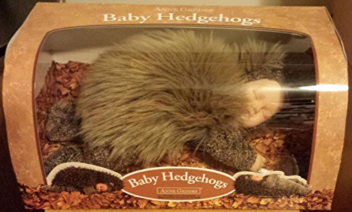 Anne Geddes Hedgehog Large 12 inch in Designer Box excellent Gift very rare vintage -