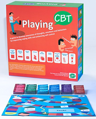 PlayingCBT - therapy game to develop awareness of thoughts, emotions and behaviors for improving social skills, coping skills and enhancing self control. by Playing CBT