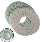 cushioned toilet seats for sale  Euone  Toilet Seat Cover Clearance Sale , 2Pcs Cushioned Toilet Seat Cover Pads Bathroom Soft Stretchable Washable Covers