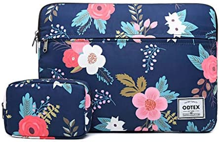 Rhododendron Laptop Sleeve Bag Tablet Travel Protective Case Cover Compatible with 10-17 Inch Laptop