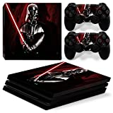 GoldenDeal PS4 Pro Skin and DualShock 4 Skin - Star Warrior - PlayStation 4 Pro Vinyl Sticker for Console and Controller Skin