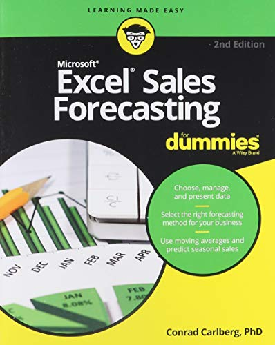 Excel Sales Forecasting For Dummies (For Dummies (Computer/Tech))