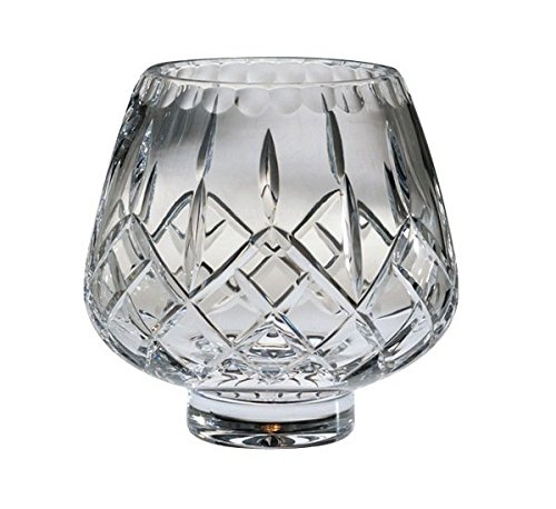 Majestic Gifts High European Quality Cut Crystal Footed Rose Bowl 7