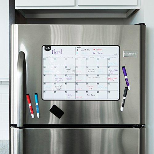 Magnetic Weekly Calendar For Refrigerator : Magnetic dry erase calendar board fine tip markers