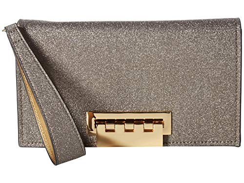 - ZAC Zac Posen Women's Earthette Clutch Metal Glitter One Size