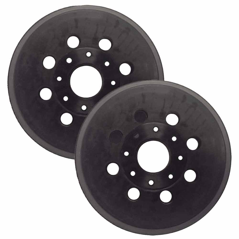 Superior Pads and Abrasives RSP42 5 inch Diameter 8 Vacuum Holes Hook and Loop Sanding Pad Replaces Bosch 2610955945 and RS034 2 PER PACK