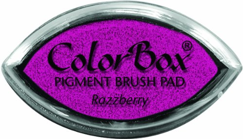 (ColorBox Classic Pigment Cat's Eye Ink Pads, Razzberry)