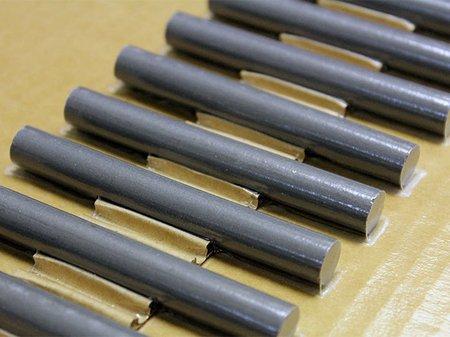 """Ferrite Rod, 61 Material, 0.5"""" Diameter, 6"""" Length"""
