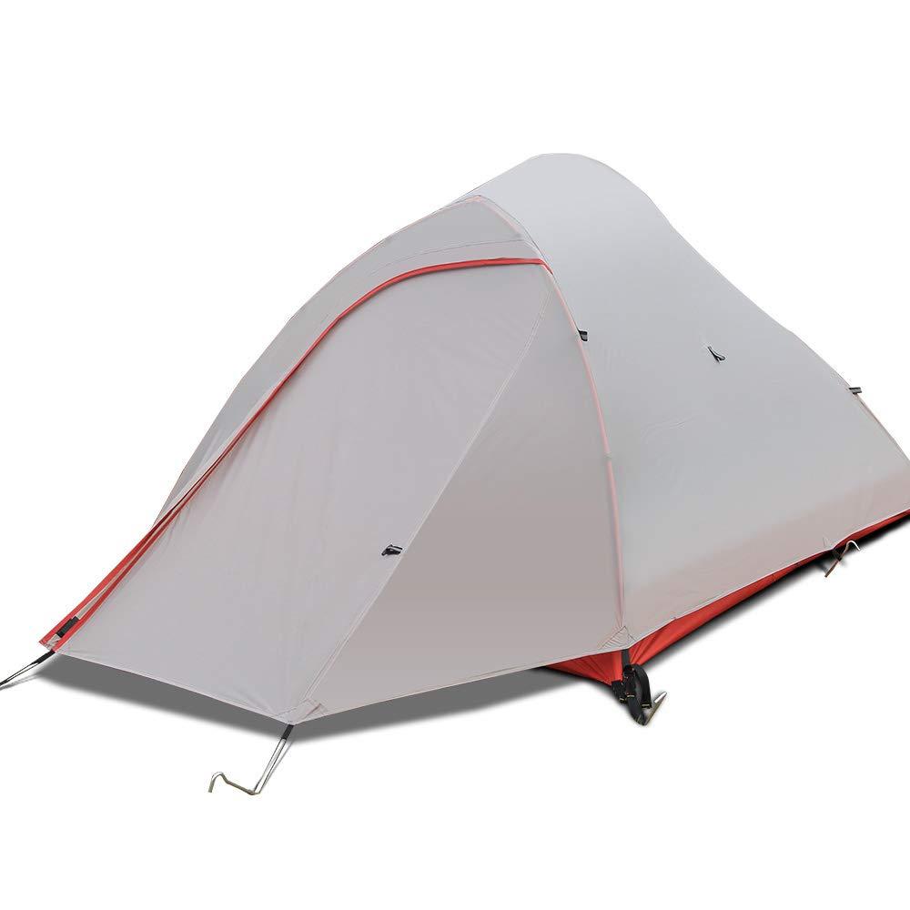 CNMF 1 2 Person wasserdichtes Zelt, Zelt, Zelt, Backpacking einstellbare Plane und Zeltstangen Outdoor Camping Zelt für Camping Wandern Reisen Klettern Alpin Zelt B07NVLS3F1 Kuppelzelte Bekannt für seine schöne Qualität 17e3b2