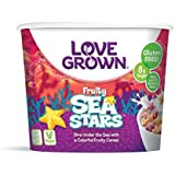 Love Grown Sea Stars Cereal, 1.1 oz. Cup, 12-Pack