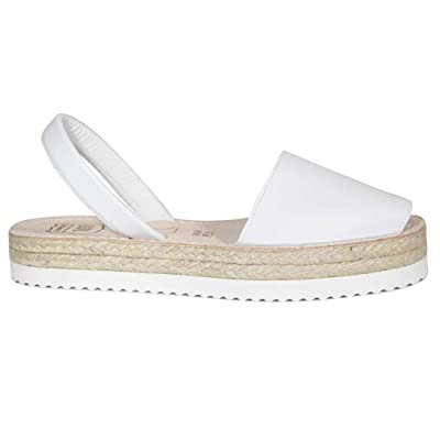 Espadrilles Platform Avarcas - Comfortable Sandals for Women Made with Natural Leather | Platforms & Wedges
