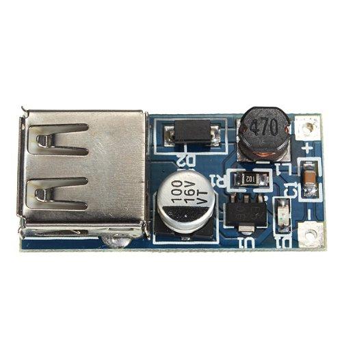 PFM Control DC-DC 0.9V-5V To USB 5V Boost Step-up Power Supply Module.