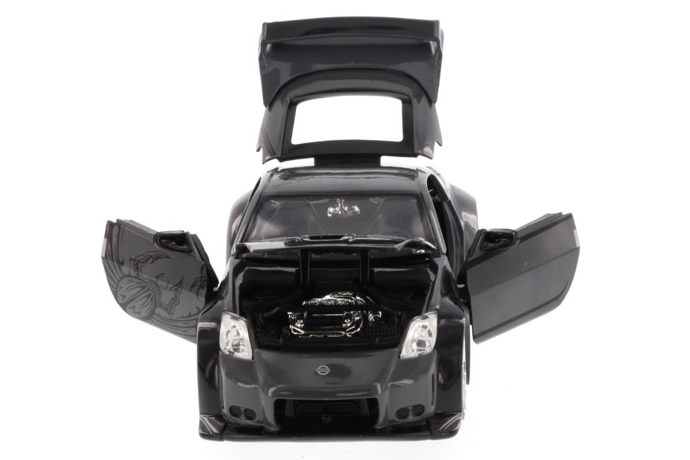 Amazon.com: Jada Fast & Furious D.K.s 2006 Nissan 350Z Hard Top, Gray 97219 - 1/24 Scale Diecast Model Toy Car, but NO BOX: Toys & Games