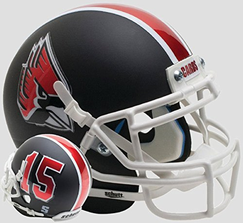 BALL STATE CARDINALS NCAA Schutt XP Authentic MINI Football Helmet