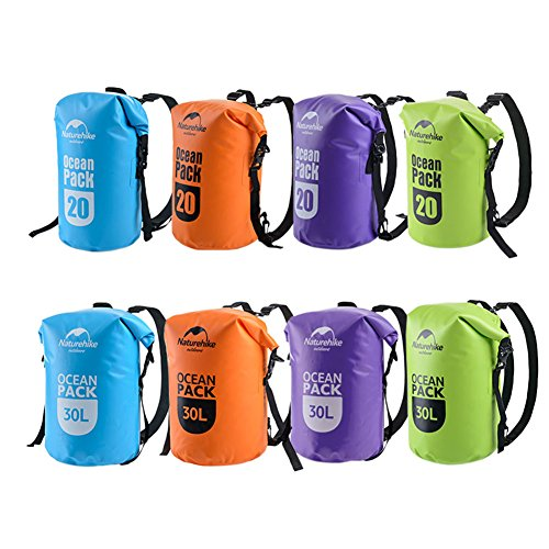 Zhuhaixmy 500D Waterproof Dry Bag Dry Sack Case for Outdoor Activities Water Sports Boating,Swimming,Canoeing,Surfing…