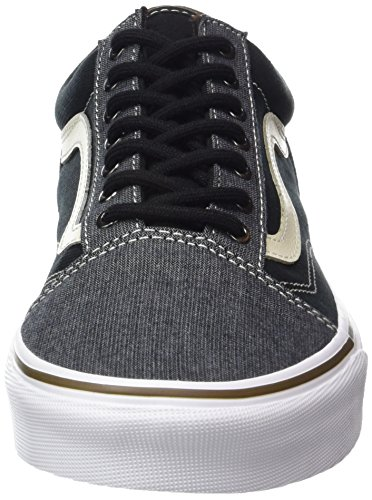 Vans Old Skool, Zapatillas de Entrenamiento para Hombre Negro (T/h)