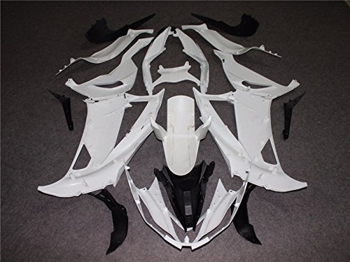 2013 2014 2015 2016 2017 Fit for ZX6R 636 Injection Mold Fairings Kit Unpainted Bodywork Plastic Bodyframe