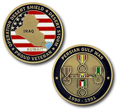 Persian Gulf War/Desert Storm Veteran Challenge Coin