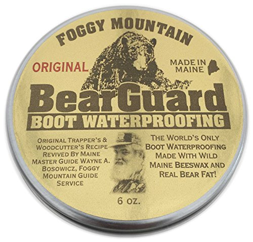 Maine Outdoor Solutions, LLC Bear Guard Original - Boot and Leather Waterproofing - Beeswax and Bear Grease price tips cheap