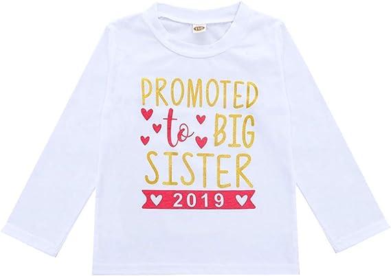 Amazon.com: 2019 2020 Ropa de bebé niña traje de hermana ...