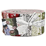 Overnight Delivery Jelly Roll 40 2.5-inch Strips by Sweetwater for Moda Fabrics 5700JR