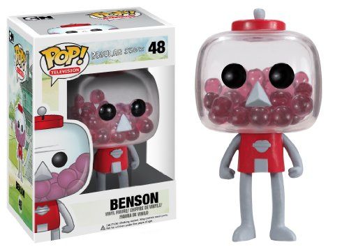 Funko POP Television Benson Regular Show Vinyl -