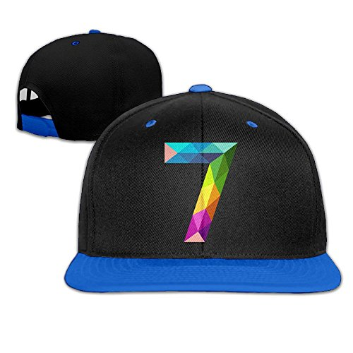 Unisex Cotton Twill Snapback Colorful Baseball cap Blue - 8