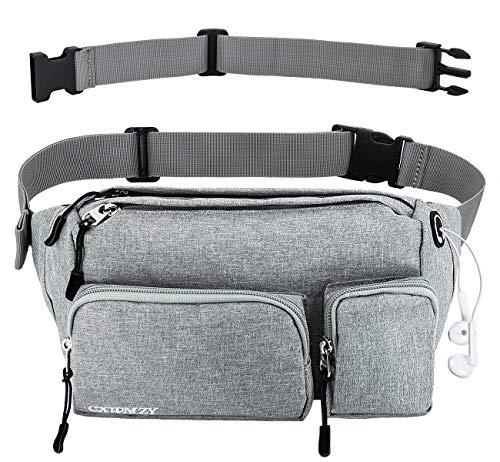 Everest Signature Fanny Pack Set of 2 adjustable waist and a Velcro pocket