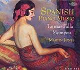 Spanish Piano Music: Falla, Turina, Mompou