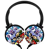 Catcat Codename Wired Portable Foldable Headsets with Microphone Smartphones Laptop Hi-Fi Stereo Noise Isolation Smartphones Laptop Tablet for Kids or Adults