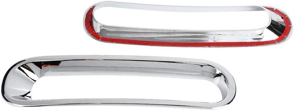 Qii lu Griglia anteriore griglia per griglia anteriore esterna per auto 7 pezzi per Wrangler JK /& Unlimited 2 porte 4 porte 2007-2017