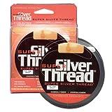 silver thread fishing line - Silver Thread Super Filler Spools, Clear, 8-Pound Test/330-Yard