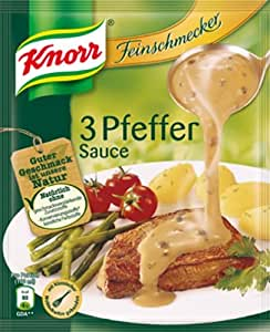 Knorr 3 Pfeffer Sauce