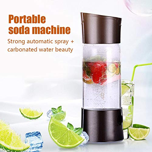 Portable Source Sparkling Water Maker, Soda Drink Carbonated Water Machine, Easy Fizzy Beverage For Home/Office/Party, Bubble Machine For Household Without Gas Cylinder